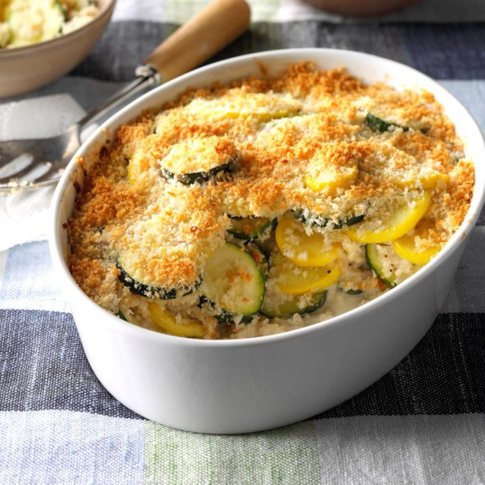 Greenfield Indiana Recipes Yellow Squash And Zucchini Gratin