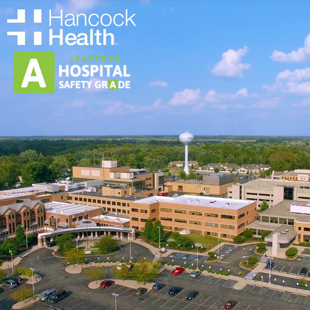 Hancock Health Receives A Rating for Hospital Safety