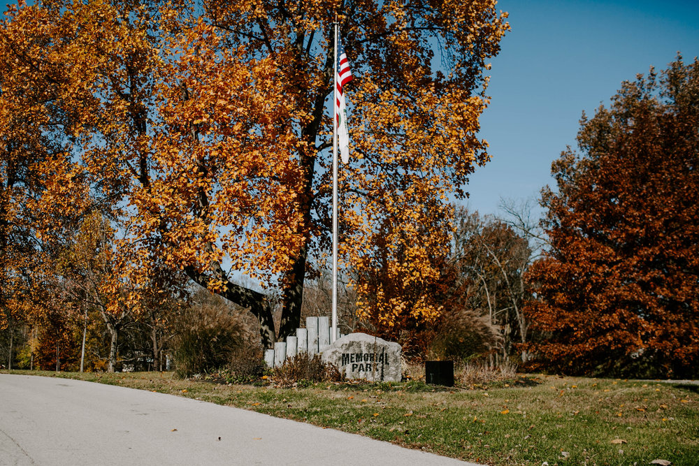 Fall Foliage Memorial Park